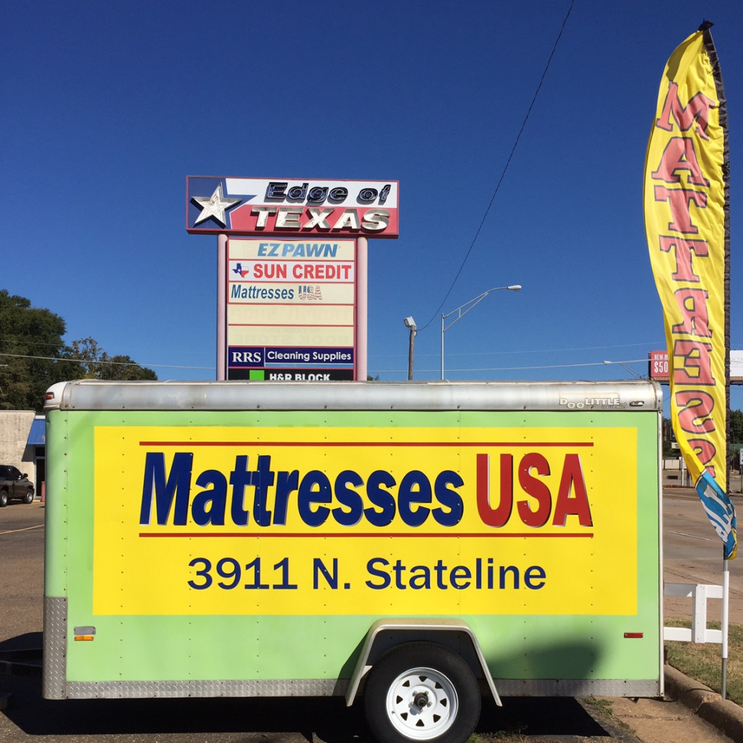 Look for our green trailer on Stateline across from Fat Jack's!